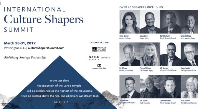 WASHINGTON –               Culture Shaper Summit