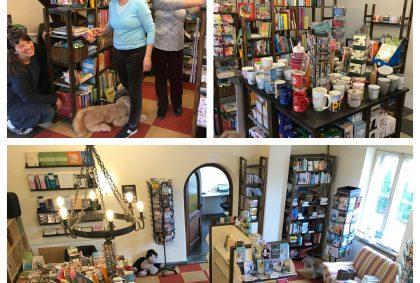 15. März Buchhandlungseröffnung im Neuen hALLEluja Familien Zentrum